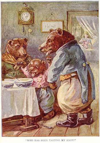 The Story of the Three Bears /Три медведя/
