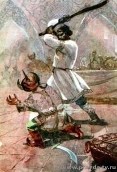 Первый бой Ильи Муромца