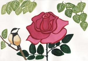 Читать о розе и жабе