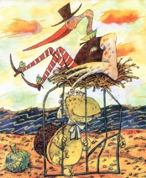 Про чайку Оливию и черепаху Розалинду
