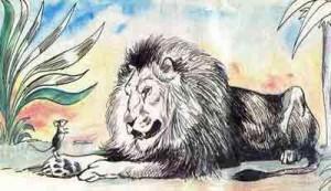 Як миша віддячила левові