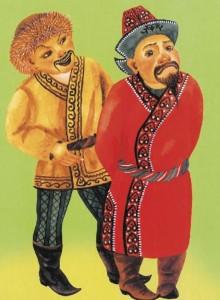 Казахская народная сказка Жадный бай и Алдар-Косе