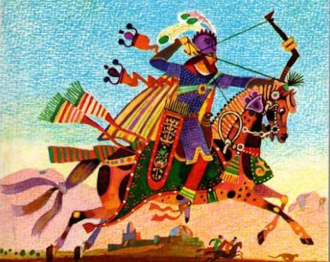 Таджикская народная сказка Алчный кади