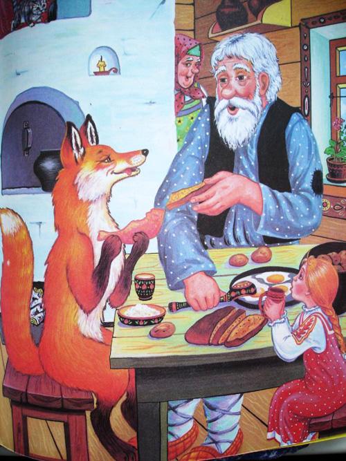 бегите пробовать, картинки к сказке снегурушка и лиса русская народная сказка старых