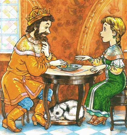 Сказка о серебряном блюдечке и наливном яблочке