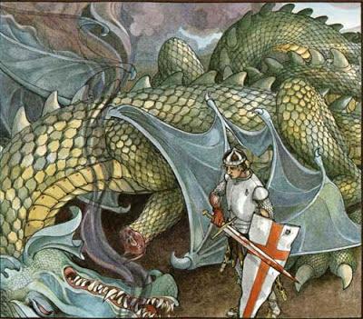 St. George of Merrie England /Св.Георгий — победитель дракона/