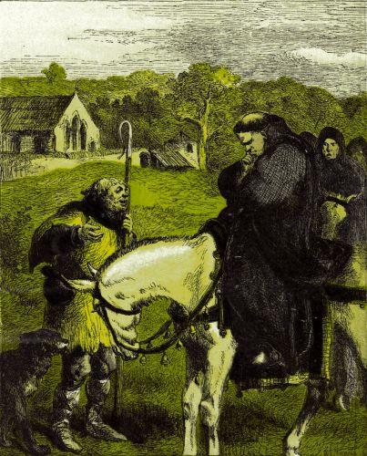 Король Иоанн и Кентерберийский аббат