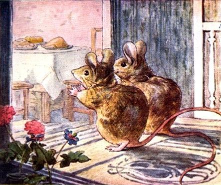 Титти-мышка и Тэтти-мышка