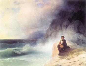 А.С. Пушкин. Земля и море