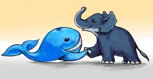Арабская народная сказка Заяц, который победил кита и слона