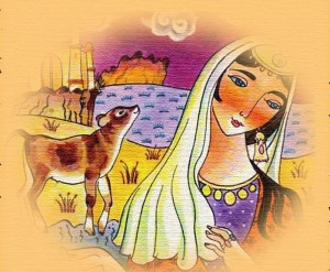 Азербайджанская народная сказка Любящая и любимая жена